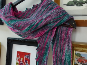 another hitchhiker shawl