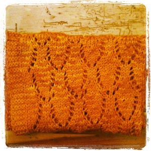 photo of yellow lace baby blanket